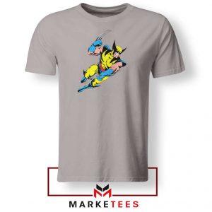Wolverine Mutant 2021 New Sport Grey Tshirt