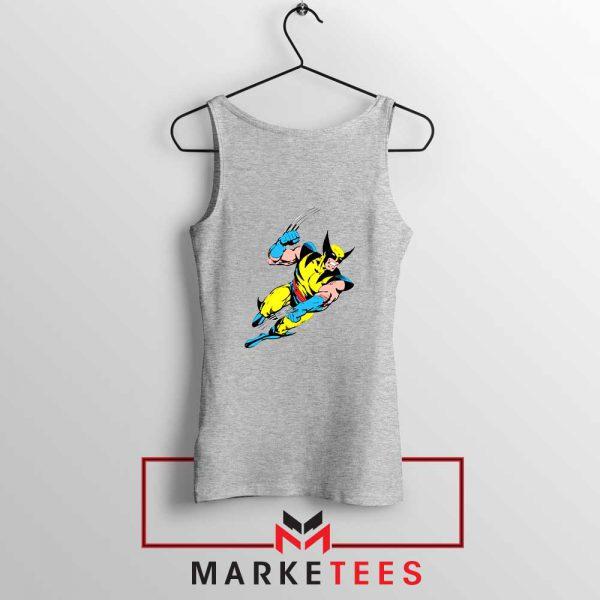 Wolverine Mutant Marvel Sport Grey Tank Top