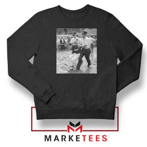 Young Bernie Sanders Arrested Black Sweatshirt