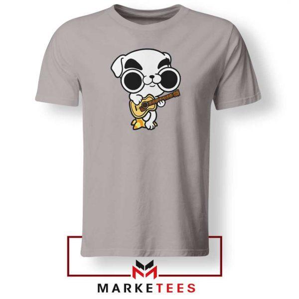 Animal Crossing Nintendo Rock Grey Tshirt