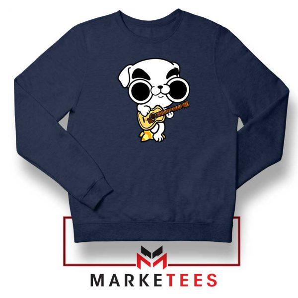 Animal Crossing Nintendo Rock Navy Blue Sweatshirt