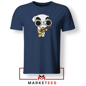 Animal Crossing Nintendo Rock Navy Blue Tshirt