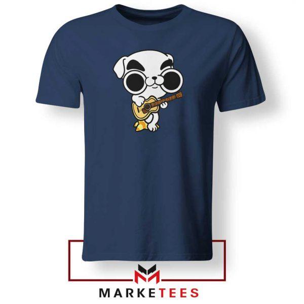 Animal Crossing Nintendo Rock Navy Blue Tshirt