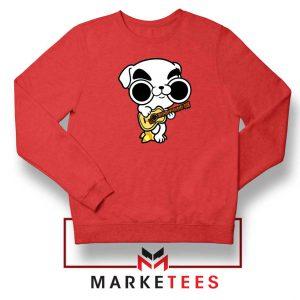 Animal Crossing Nintendo Rock Red Sweatshirt