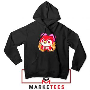 Bird Animal Crossing Series Black Hoodie