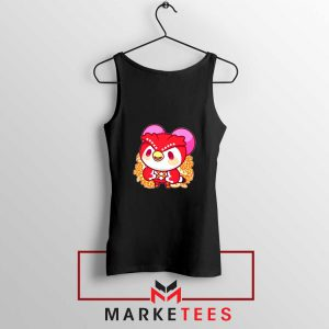 Bird Animal Crossing Series Black Tank Top