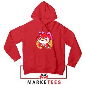 Bird Animal Crossing Series Red Hoodie