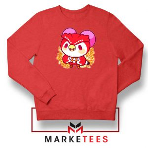 Bird Animal Crossing Series Red Sweatshirt