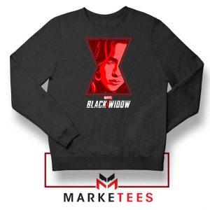 Black Widow Close Up Marvel Sweatshirt