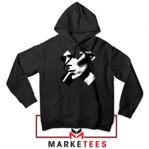 Bowie X Smoke Art Rock Cheap Hoodie