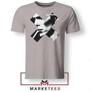 Bowie X Smoke Art Rock Nice Grey Tshirt