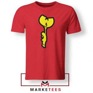 Children Hip Hop Funny Rap Cheap Red Tshirt