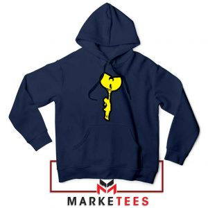 Children Hip Hop Rap Best Navy Blue Hoodie