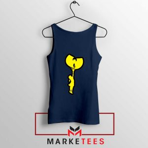 Children Hip Hop Rap Best Navy Blue Tank Top