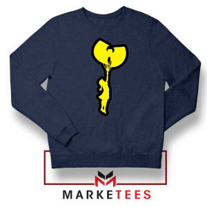 Children Hip Hop Rap New Navy Blue Sweatshirt