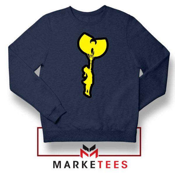 Children Hip Hop Rap New Navy Blue Sweatshirt