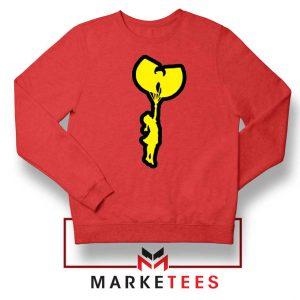 Children Hip Hop Rap New Red Sweatshirt