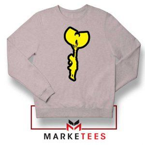 Children Hip Hop Rap New Sport Grey Sweatshirt
