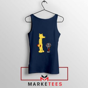 DOOM and Lord Quas Best Navy Blue Tank Top