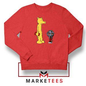 DOOM and Lord Quas Red Sweatshirt