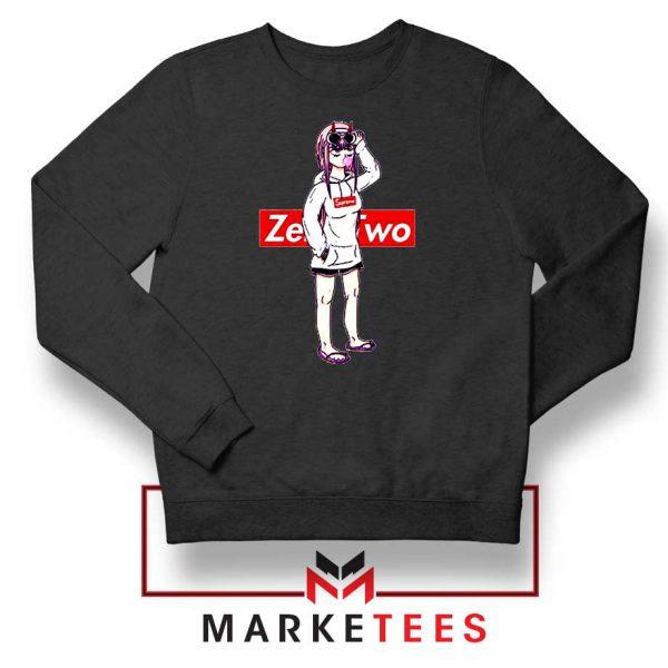 Darling In The Franxx Brand Black Sweatshirt