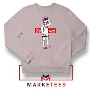 Darling In The Franxx Brand Grey Sweatshirt