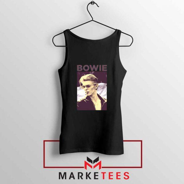 David Bowie Actor Smoke New Black Tank Top
