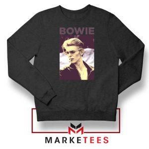 David Bowie Actor Smoke Nice Black Sweatshirt