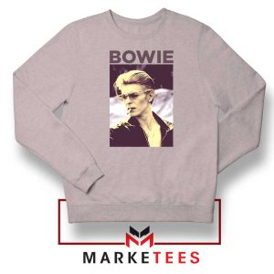 David Bowie Actor Smoke Nice Grey Sweatshirt