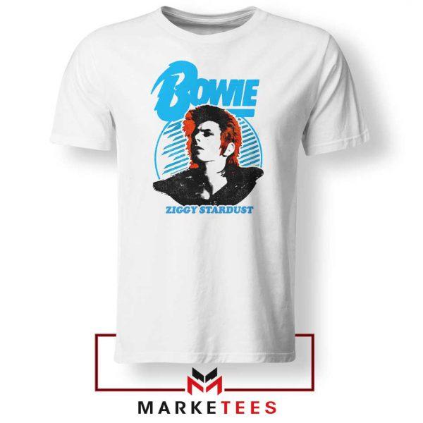 David Bowie Singer Ziggy Stardust Tshirt