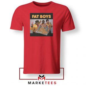 Fat Boys 80s Rap Cool Cheap Red Tshirt