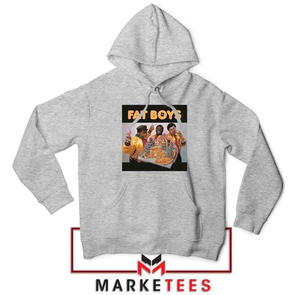 Fat Boys 80s Rap Cool Cheap Sport Grey Hoodie