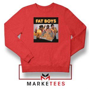 Fat Boys 80s Rap Cool New Red Sweatshirt