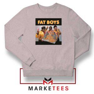 Fat Boys 80s Rap Cool New Sport Grey Sweatshirt