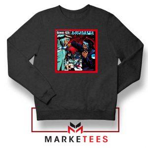 GZA Liquid Swords Album Black Sweatshirt