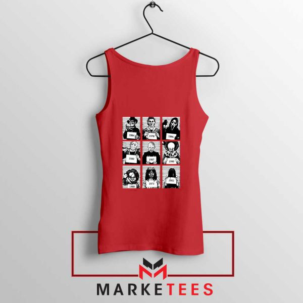 Horror Prison Friends New Red Tank Top