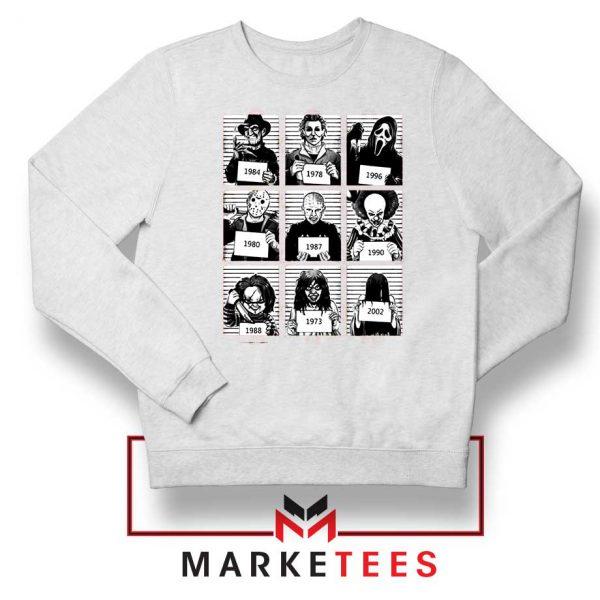 Horror Prison Friends New White Sweatshirt