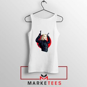 Marvels Black Widow Superhero Tank Top