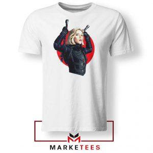 Marvels Black Widow Superhero Tshirt