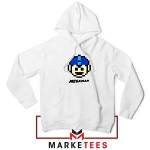 Mega Man Game Pixel Face Hoodie