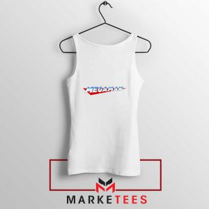 Mega Man Logo Gaming Tank Top