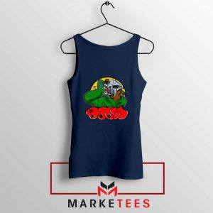 Mf Doom Best Rapper Navy Blue Tank Top