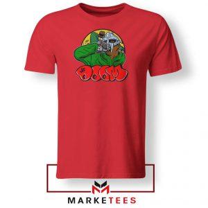 Mf Doom Best Rapper Red Tshirt