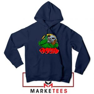 Mf Doom Cheap Rapper Navy Blue Hoodie
