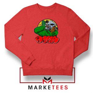Mf Doom New Rapper Red Sweatshirt