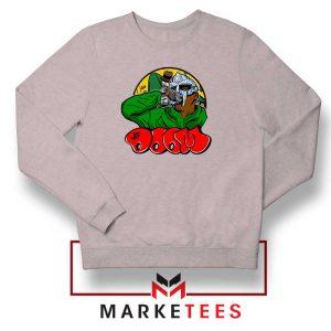 Mf Doom New Rapper Sport Grey Sweatshirt