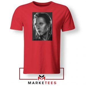 Natasha Romanoff Portrait Best Red Tshirt