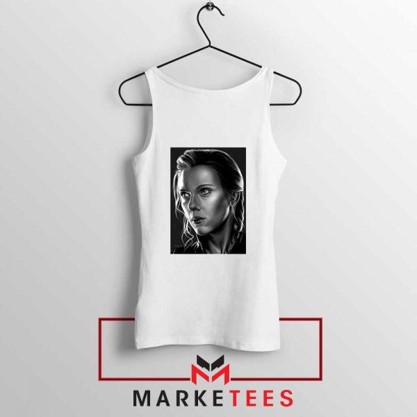 Natasha Romanoff Portrait Cheap Tank Top
