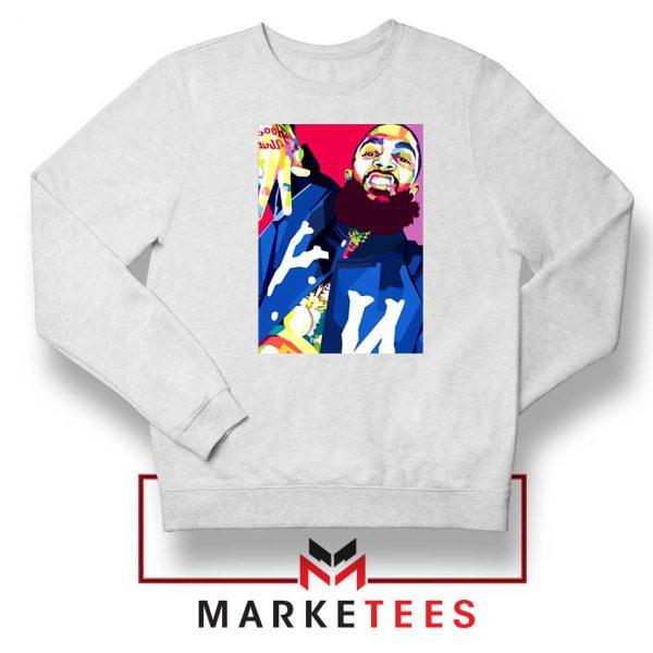 Nipsey Hussle Art Illustration Sweatshirt