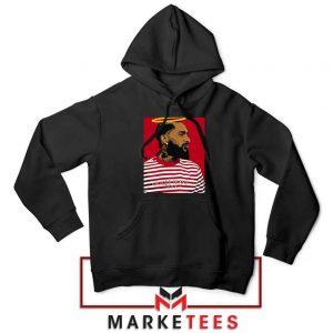 Nipsey Hussle RIP Rapper Black Hoodie
